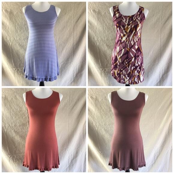 LOGO by Lori Goldstein Tops - LOGO Layers Knit Tunic Tank Top Ruffled Hem - XXS
